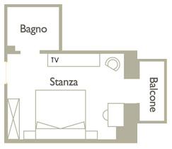 Piantina Camera Confort